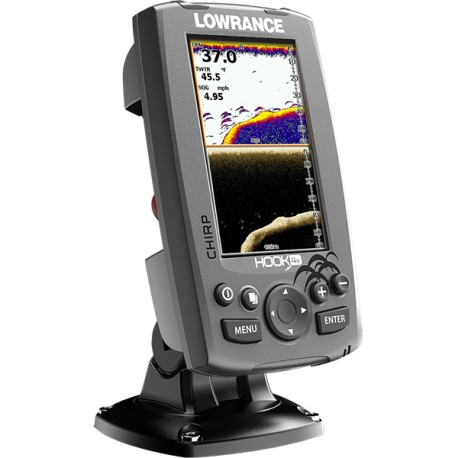 Eholote Lowrance Hook 4x CHIRP