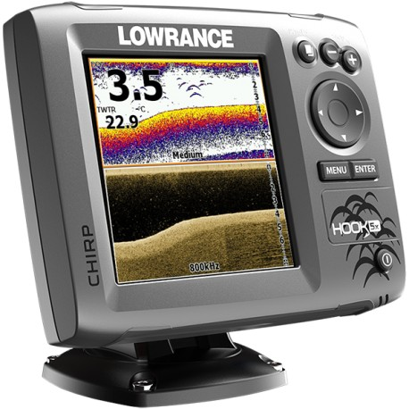 Eholote Lowrance Hook 5x CHIRP